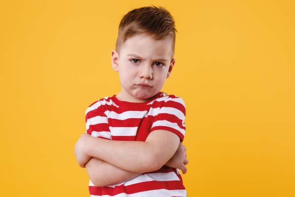 ira en niños